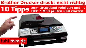 Brother Drucker Druckt Nicht Richtig 10 Tipps Wartung Und Fehler