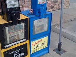 Newspaper Vending Machine Near Me Awesome What A Coincidence WATCHthisCAP Is Always Local Too Including