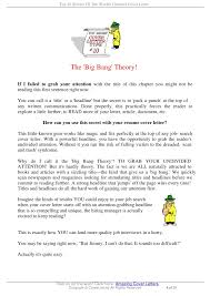 4 sentence cover letter top 10 secrets of the worlds greatest cover letter