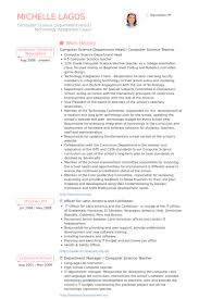 resume for computer science science teacher resume samples visualcv resume samples database