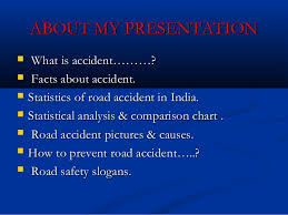 Road Safety Chart In India Road Accident Road Safety Action Plan Ppt By Paraspareek