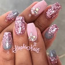 Babypink Nehty Nails Gray Nails A Pink Nails