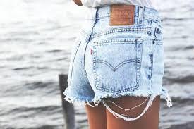 Levi High Waisted Shorts Size Chart Acid Washed Vintage Levis High Waist Shorts From Knee Deep Denim