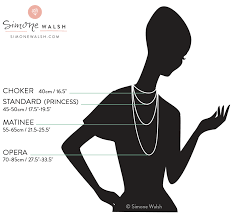Handy Necklace Length Style Guide With Measuring Tips