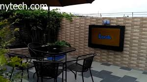 E Outdoor TV Cabinet Weatherproof Waterproof Case Lcd  Enclosure