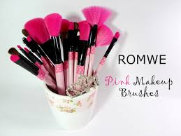 professional soft makeup brush set