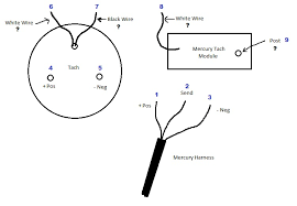 mercury tach module wiring page 1 iboats boating forums 446761 Mercury Outboard Tachometer Wiring Diagram mercury tach module wiring mercury outboard tach wiring diagram