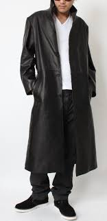 leather mens スタンドカラーロング leather coats leather jacket
