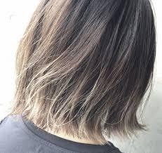 地髪を活かしたお手軽カラー黒髪グラデーションヘアカタログ Arine