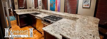 Kitchen Granite Slabs Aphrodite Granite Granite Countertops St Louis Area