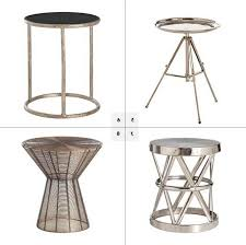 elegant small metal accent table small round metal table all nite graphics
