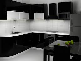 modern kitchen black and white. Elegant And Modern Black Kitchen Designs White
