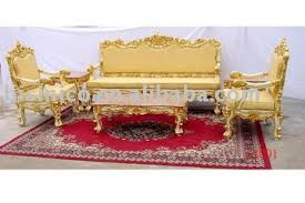 gold living room furniture. gold color living room furniture,european antique sofa sets,three seat sofa,single chairs,hand carved,moq:1set - buy set,wooden furniture h