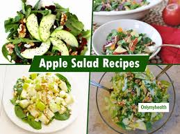 Diabetes Fruit Diet Chart 5 Apple Salad Recipes To Control
