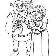 Small Picture Shrek And Fiona Coloring Pages Coloring Coloring Pages