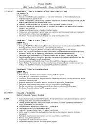 Humana Pharmacist Sample Resume Pharmacy Clinical Resume Samples Velvet Jobs 1