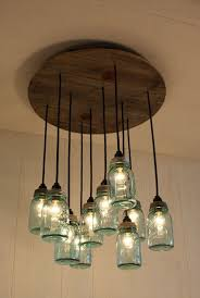 amazing glass jar chandelier 43 for your home decoration ideas with glass jar chandelier