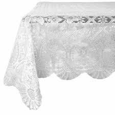 curcya plaid table cloth cover square