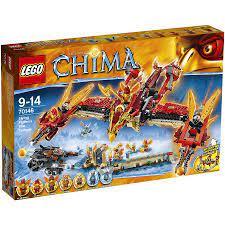 Đồ chơi LEGO 70145 - Ngôi Đền Phượng Hoàng Lửa có 1301 chi tiết