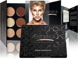 aesthetica cosmetics cream contour and highlighting makeup kit contouring foundation concealer palette vegan free hypoallergenic s