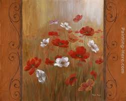 vivian flasch poppies morning glories i