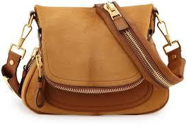 leather cross bags tom ford jennifer medium combo cross bag tan