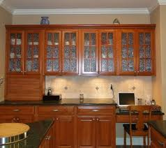 good sample of glass kitchen cabinet doors