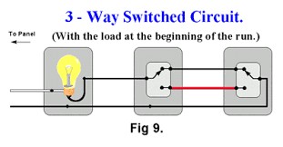 3 way switch ladder diagram 3 way switching schematic 3 Way Wiring Schematic #16