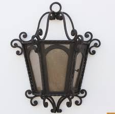 home interior awesome wrought iron outdoor lighting rustic wall lights new spanish hand forged from