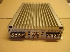 sony car amplifier sony xm 4045 4 channel amplifier tested 40x4 old school