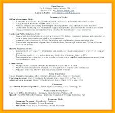 Office Assistant Resume Skills Gorgeous Office Assistant Job Description Resume Unique Skills And Ability