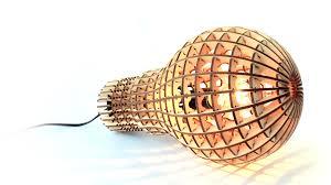 Cut Light Bulb