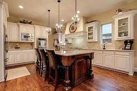 chandelier over kitchen island use of mini chandeliers as pendant lights for kitchen over island height