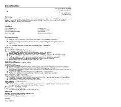 Concierge Job Description Resume Concierge Resume Resume Templates 18