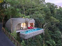 Luxurious tree house Extravagant Tree House Luxury Tree House Treehouse Point Pinterest 22 Luxury Tree House You Can Actually Stay Ideas Home Decor Ideas