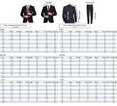 Suit Pants Size Chart Motorcycle Jacket Sizing Online Charts Collection