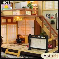 Mô Hình Nhà Búp Bê Bằng Gỗ Phong Cách Nhật Bản giá cạnh tranh