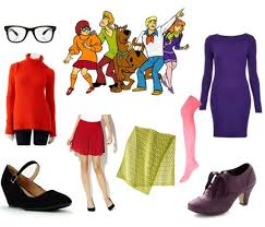 daphne and velma from scooby doo