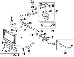 parts com® mazda cx 7 intercooler oem parts diagrams 2008 mazda cx 7 sport l4 2 3 liter gas intercooler