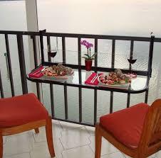 folding balcony table balcony bar