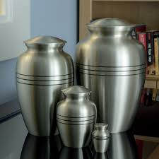 Image result for large with a small  ashes urns