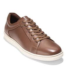cole haan shapely ii sneaker c28011 brown leather large selection great value
