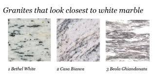 countertops granite marble:  granite look white marble granites that look like white marble