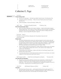 catherine page resume 2010 clinical dietitian resume