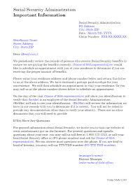 Ssa Poms Nl 00701 139 Ssa L505 Residence Address Request