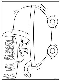 Kleurplaat Baby In De Kinderwagen Kleurplatennl