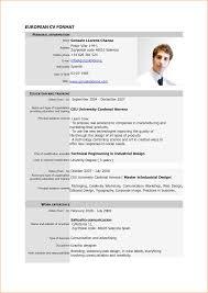 Cv And Resume Format Pdf Cv Template Format Resume Template Pdf