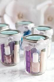 Pedicure in a Jar - Bridal Shower favor, easy simple party favor, cute mason