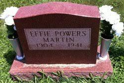 Effie Powers Martin (1903-1941) - Find A Grave Memorial