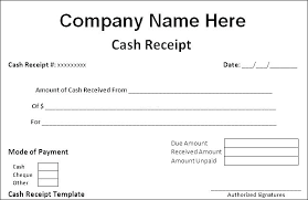 Cheque Payment Receipt Format In Word Unique Cash Receipt Voucher Word Format In Excel Down Payment Sample